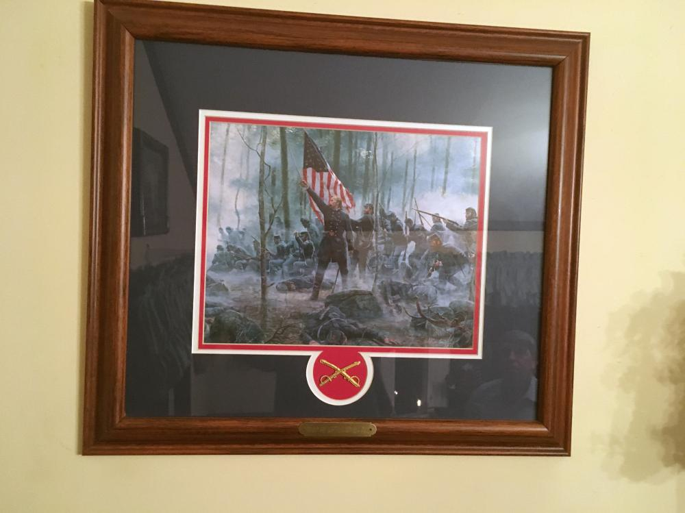 Mort Kunstler Hero of Little Round Top Collector's Print.