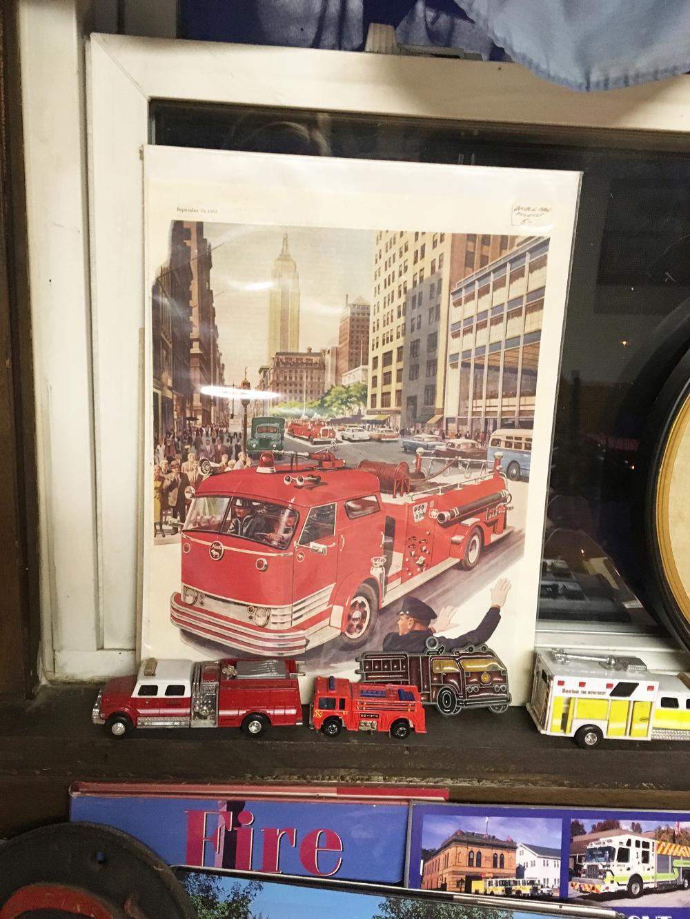 Fireman Collectible Art