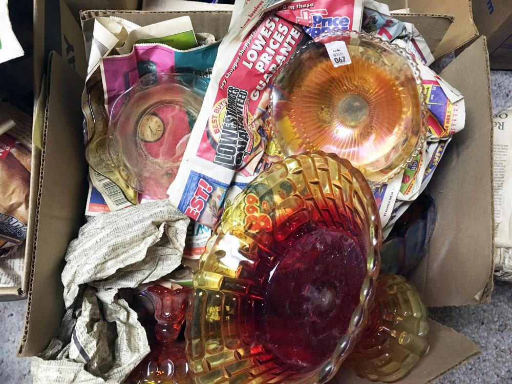 Carnival and Depression Glass Discovery Glass