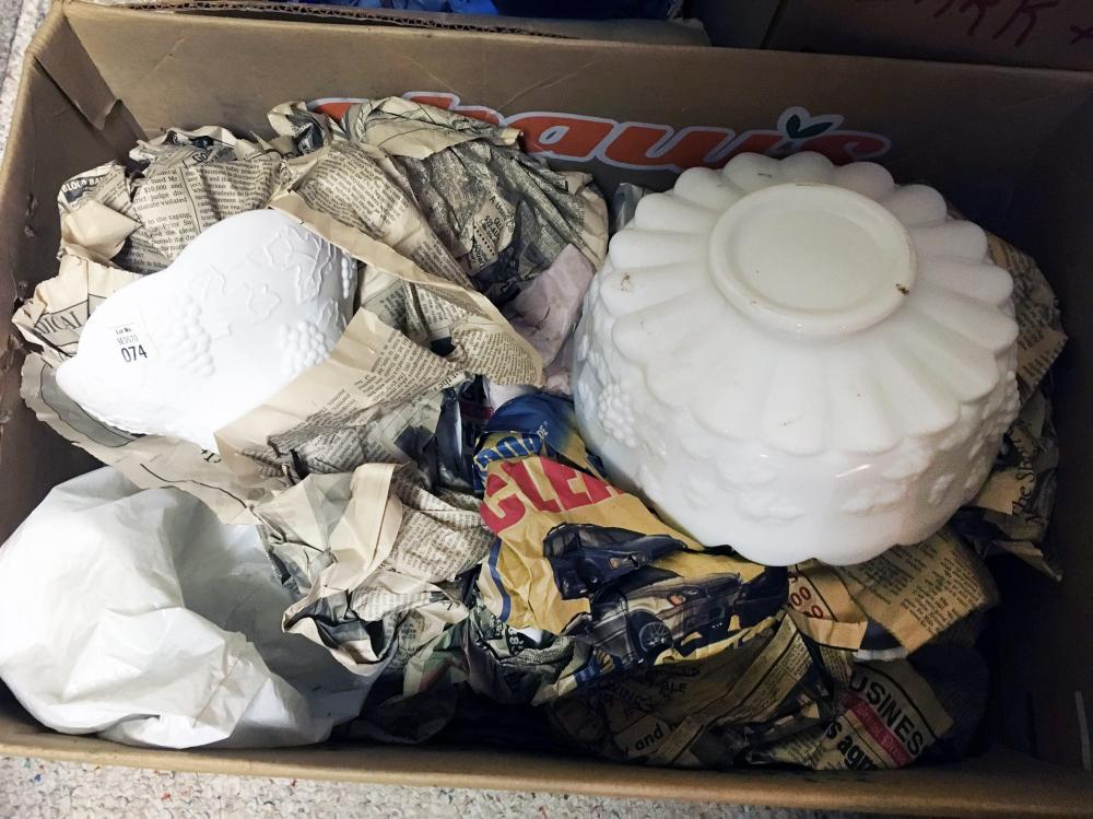 Milk Glass Discovery Lot