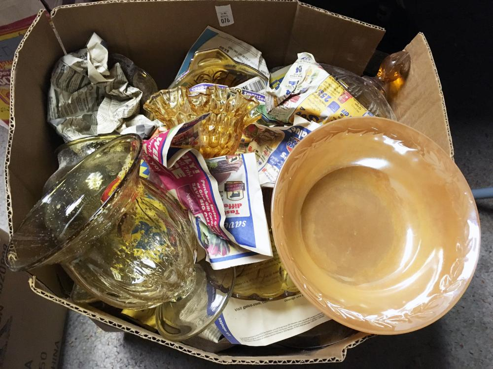 Depression and Opalescent Glass Discovery Lot