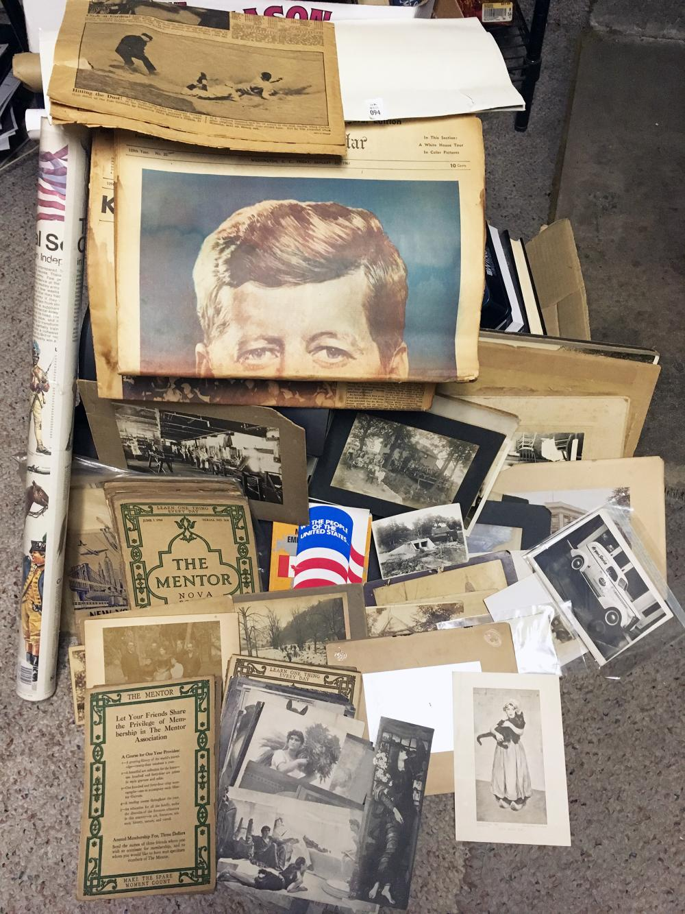 Estate Memorabilia Lot