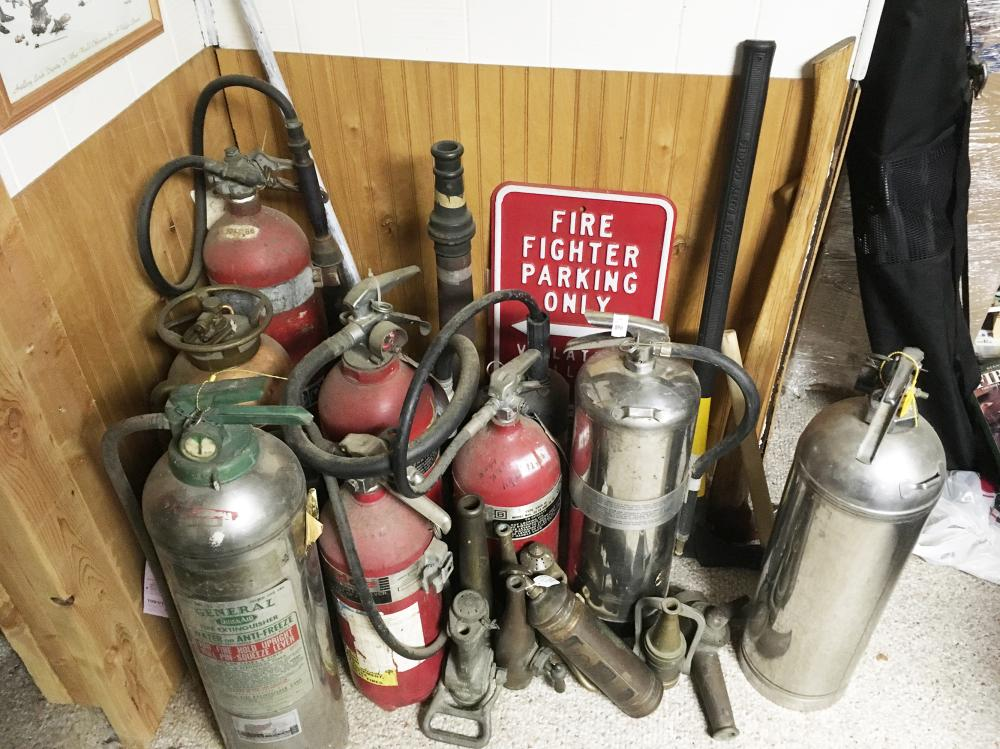 Fire Extinguisher Collection