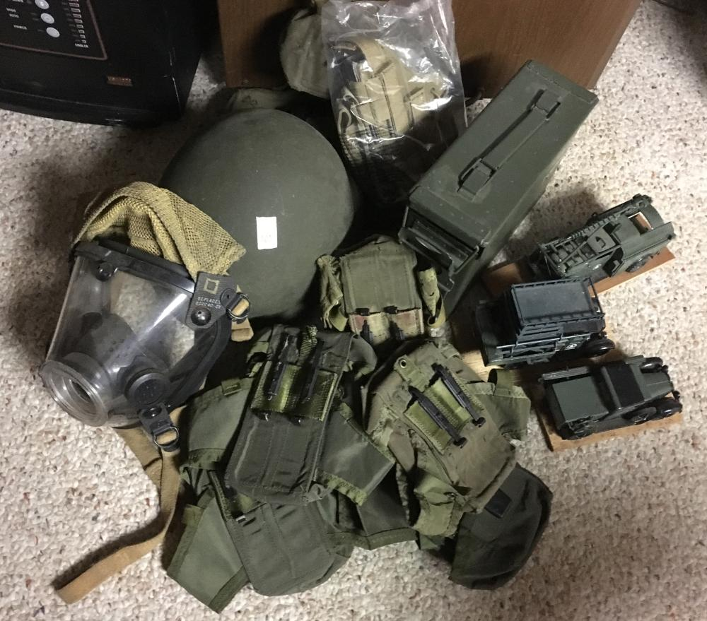 Military Collectibles Lot