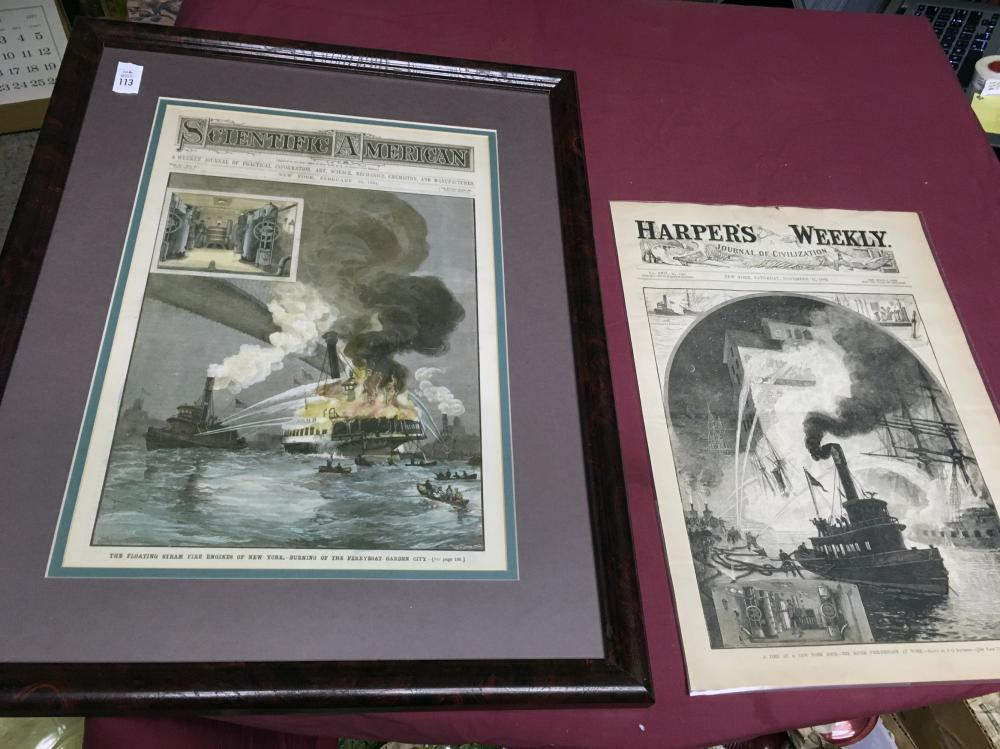 Scientific America and Harper's Weekly