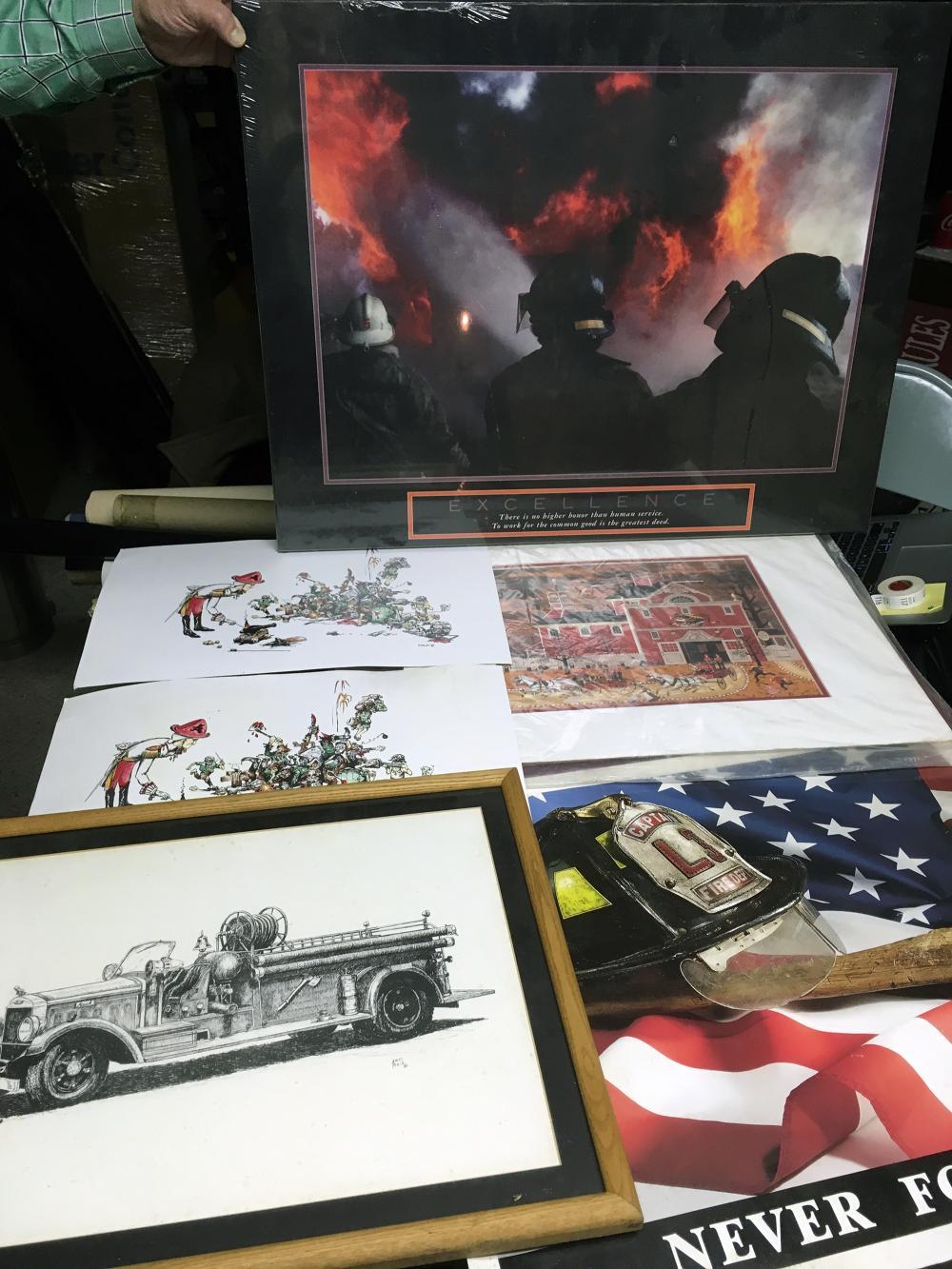 Firemen Artwork