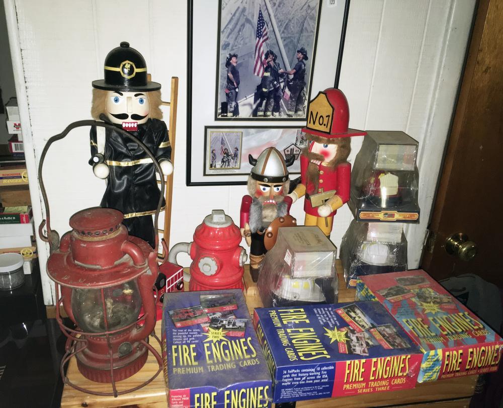 Firemen Collectibles Estate Lot