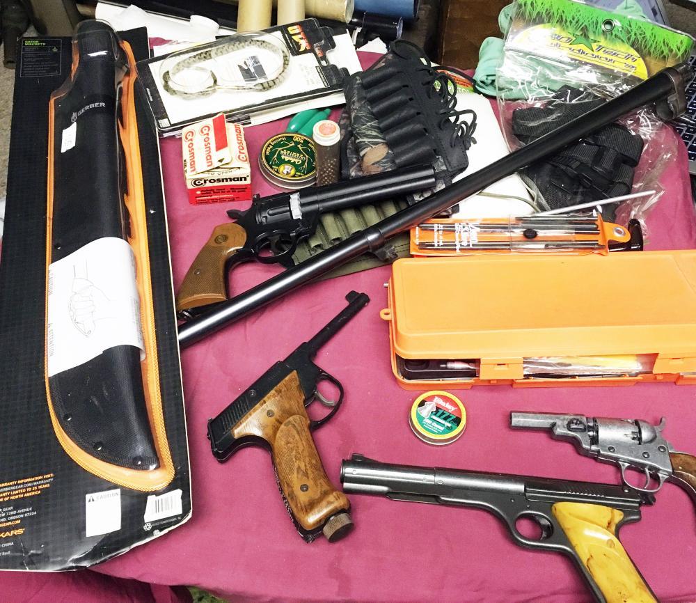 BB Guns and Machete