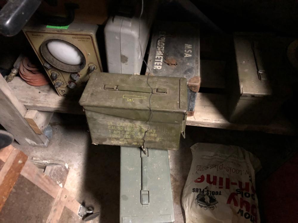 Military Ammunition Boxes, Etc.
