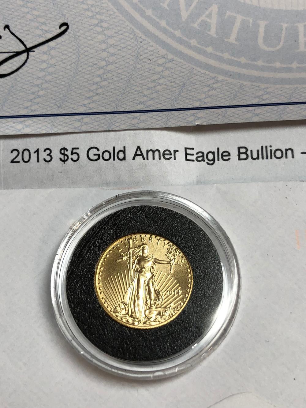 1/10 Oz. US Gold Eagle