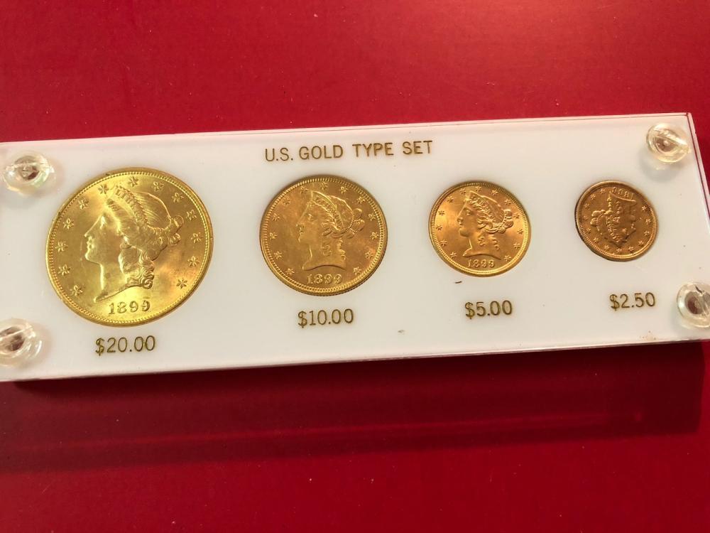 1899 U.S. Gold Type Set