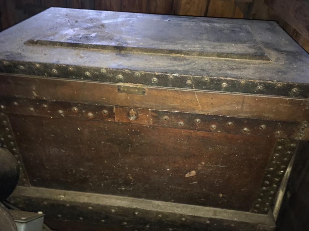 Antique Wooden Tool Boxes