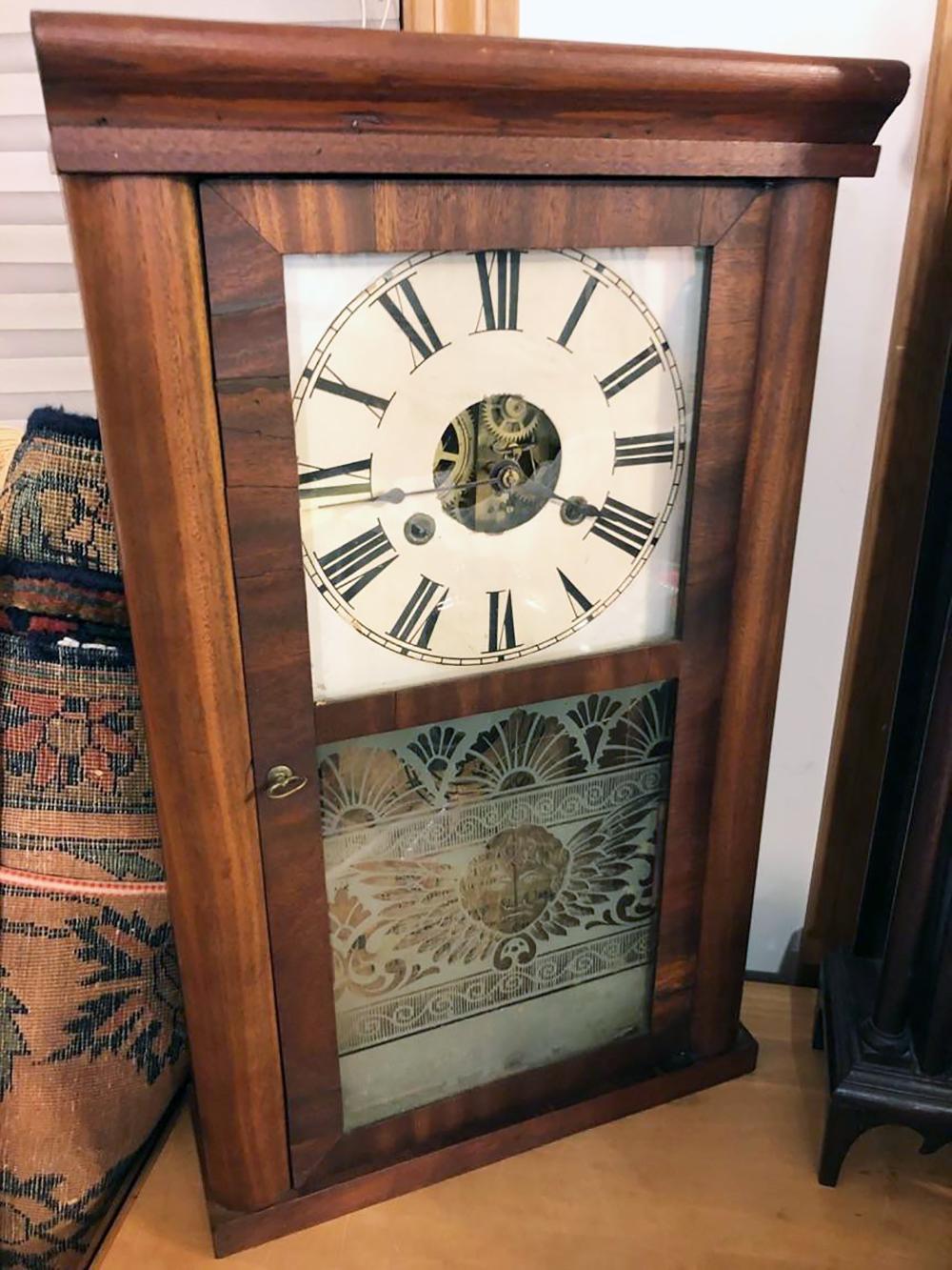Antique Terryville, CT Shelf Clock