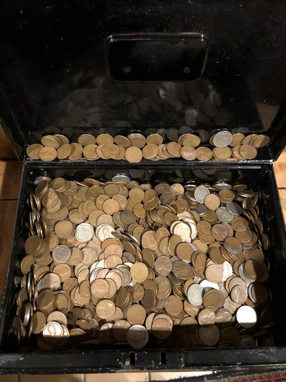 Estate Wheat Penny Collection