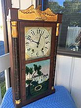 Eli Terry, Jr. & Co. Shelf Clock with Gilt Eagle