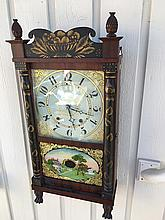 E. & G.W. Bartholomew Transitional Shelf Clock
