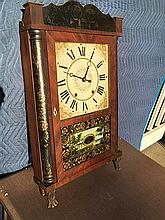Eli Terry, Jr. Quarter Column Transitional Clock