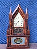 Pond and Barnes Double Steeple Fusee Shelf Clock