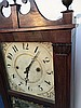 Jerome Darrow & Co. Reeded Pilaster and Scroll Clock