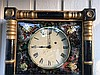 Antique Weight Driven Mirror Wall Clock