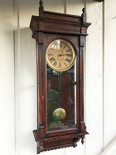 Terry Clock Co. Regulator Clock