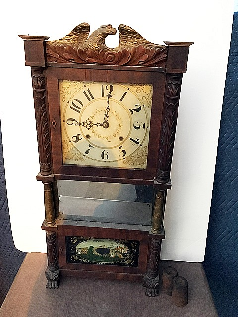 Birge & Ives Triple Decker Shelf Clock