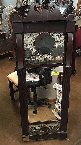 Joseph Ives Mirror Clock Case