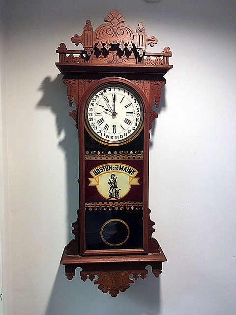E.N. Welch Eclipse Regulator Clock