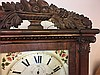 Antique Carved Column and Splat Mantel Clock