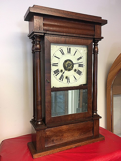 Terry and Andrews Empire Shelf Clock