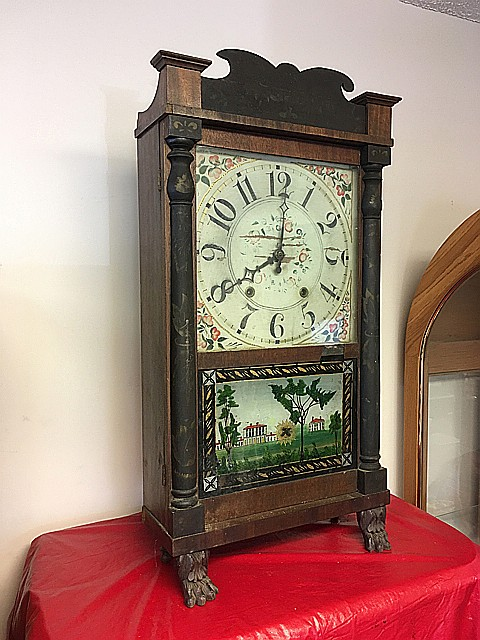 E.&G.W. Bartholomew Transitional Shelf Clock