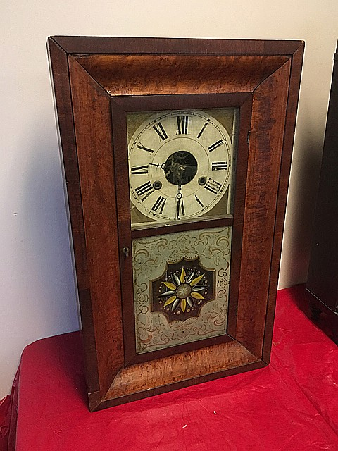 Joel A. Lane OG Shelf Clock