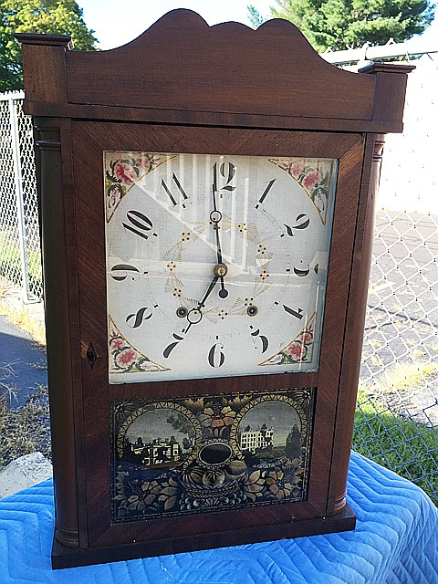 Eli Terry, Jr. Shelf Clock