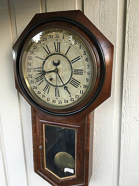 Ansonia Regulator A Calendar Clock
