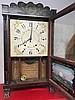 E. Terry & Sons Column and Splat Shelf Clock