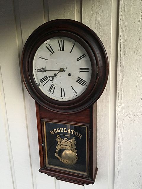 Welch Spring & Co. Regulator Clock