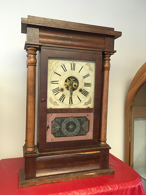 Bloomer & Sperry Portico Pillar Clock