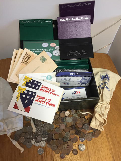 Strong Box Estate Coins