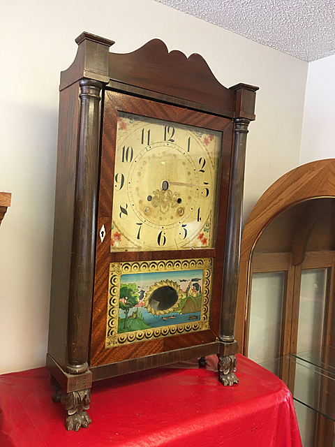 Seth Thomas Column and Splat Clock CAse