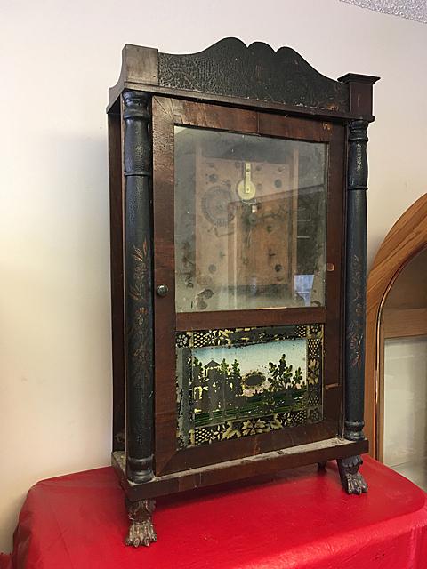 Eli Terry Column & Splat Shelf Clock