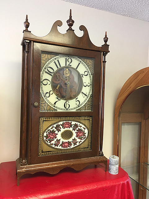 Rudy Blohmke Pillar and Scroll Clock