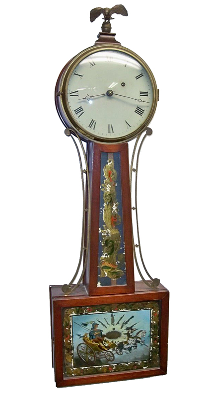 Killam & Co. Banjo Clock