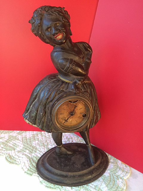 Antique Topsey Clock