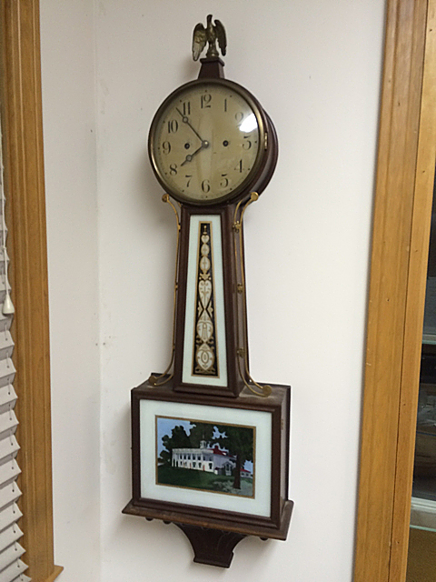New Haven Banjo Clock