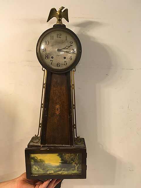 Gilbert Banjo Clock