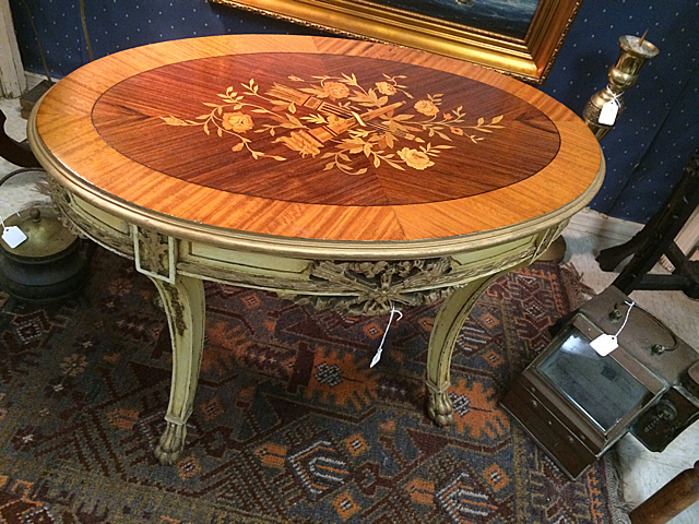 Marquitry Inlay Table