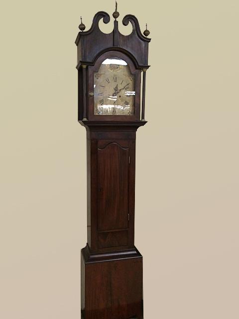 Mahogany Antique Grandfather Clock