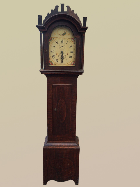 Silas Hoadley Grandfather Clock