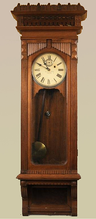 William L. Gilbert Regulator Clock