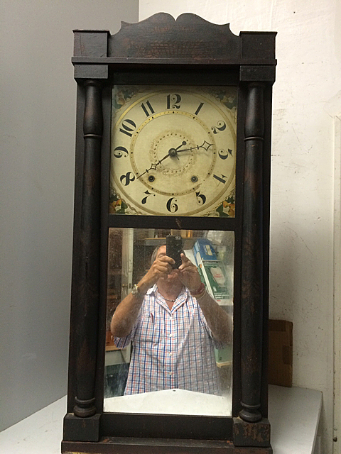 Eli Terry Seth Thomas Shelf Clock